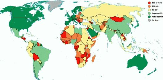 Solutions To World Poverty - Poverty per country